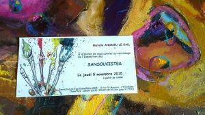sans invitation de vernissage soucistes 2015